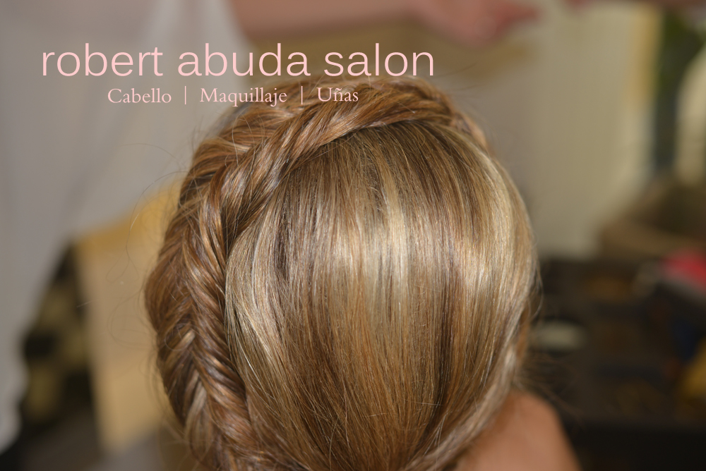 Salon de Belleza Merida Peinado Maquillaje Salones Updo Fishtail Braid Highlights Mechas 2014