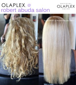 Hair by Robert Abuda Blonde Highlights